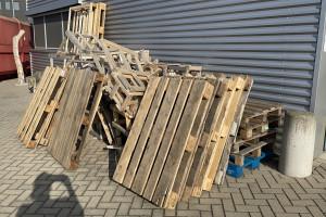 Schoon afvalhout gratis afhalen