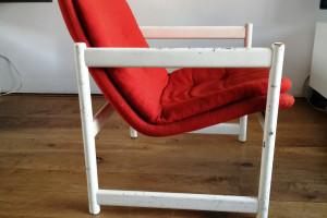 Artifort stokkenstoel jaren70