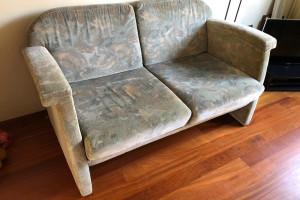 Bankstel  en 2 fauteuils (afzonderlijk op te halen)