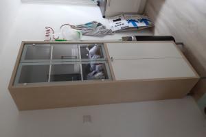 Ikea Magiker buffet/vitrinekast